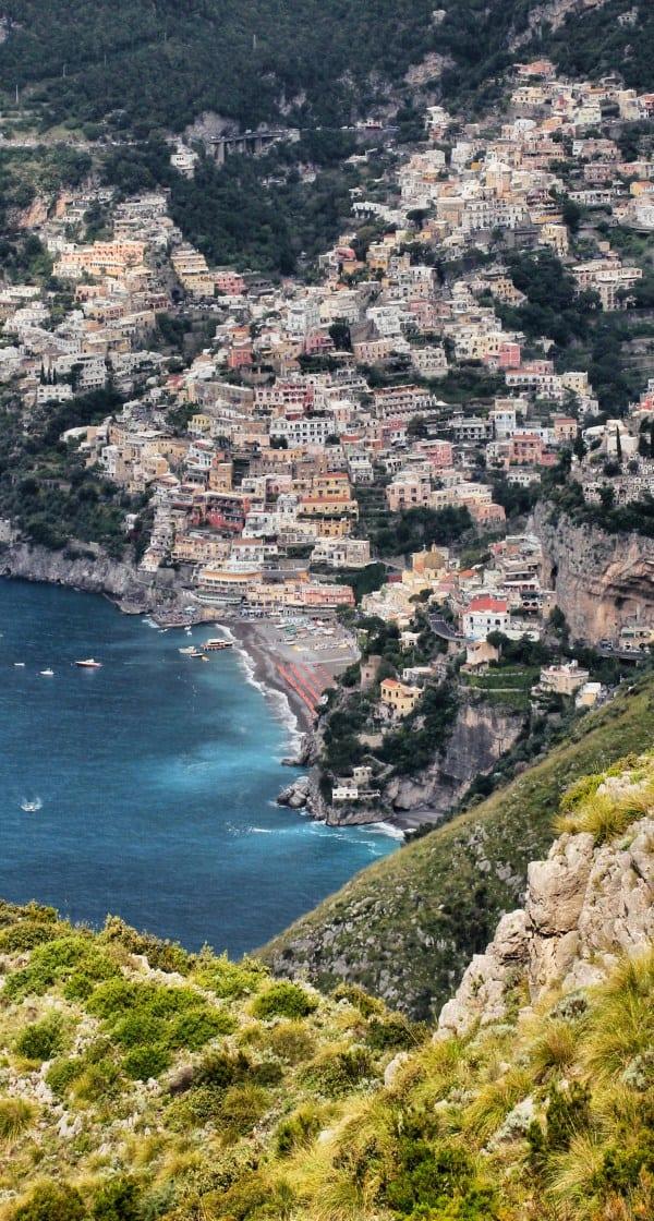 amalfi trekking amalfi wanderweg positano vom sentiero degli dei path of gods