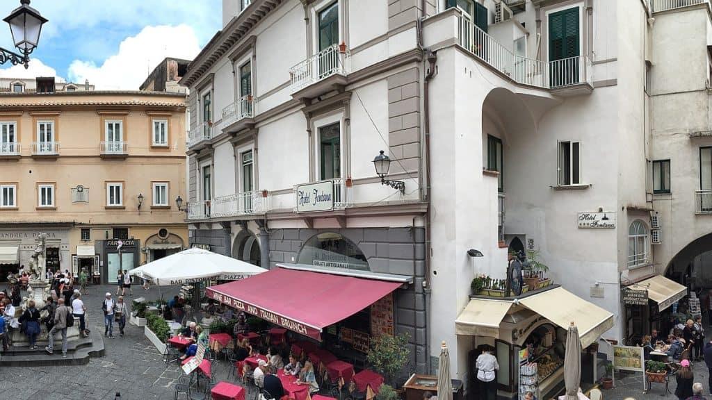 Amalfi Pernottamento al centro