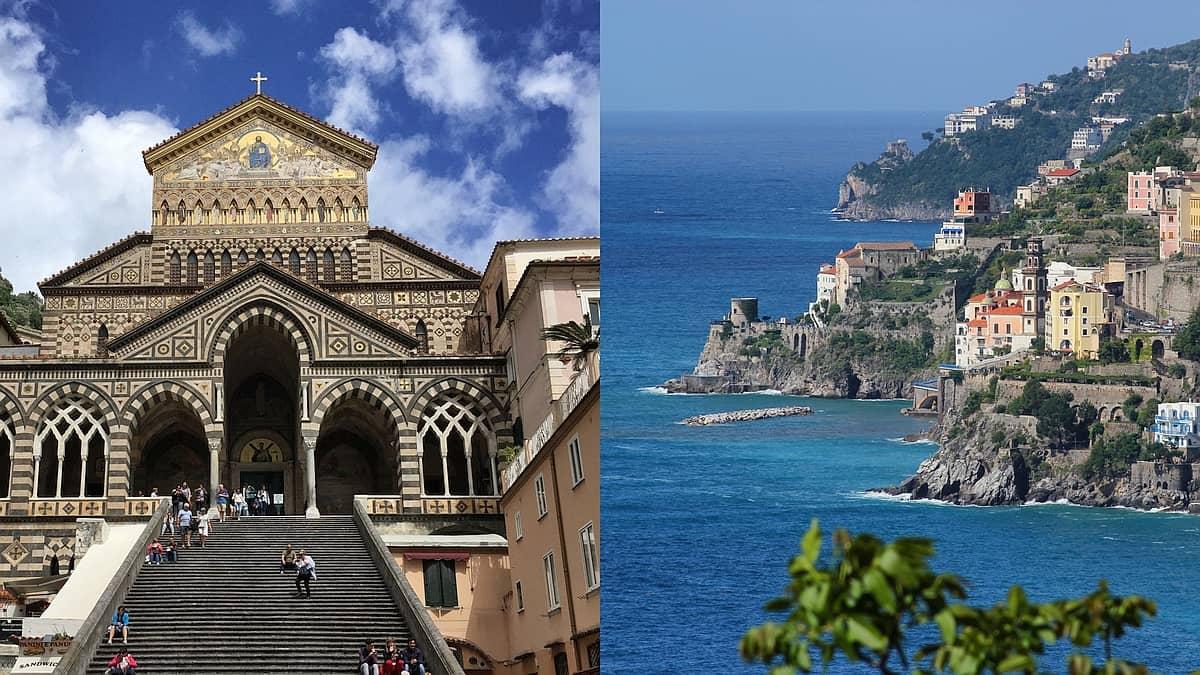 Amalfiküste zu Fuss von zwei Standorten aus