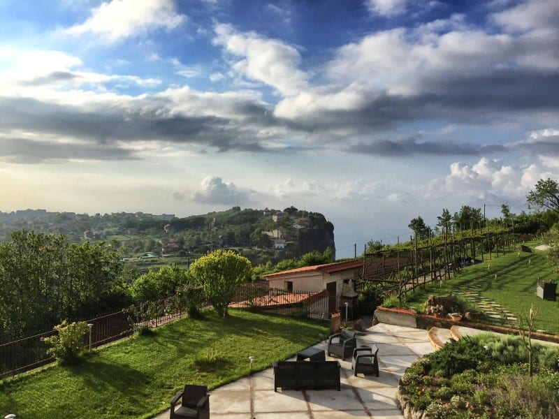 Amalfi Coast Hike Spend the night with a view in the Casa Pendola