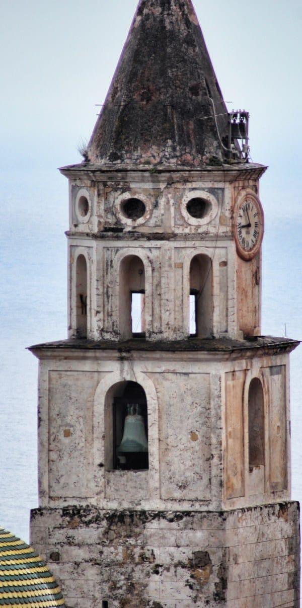 Amalfiküstenwanderung Der Kirchturm von Pogerola