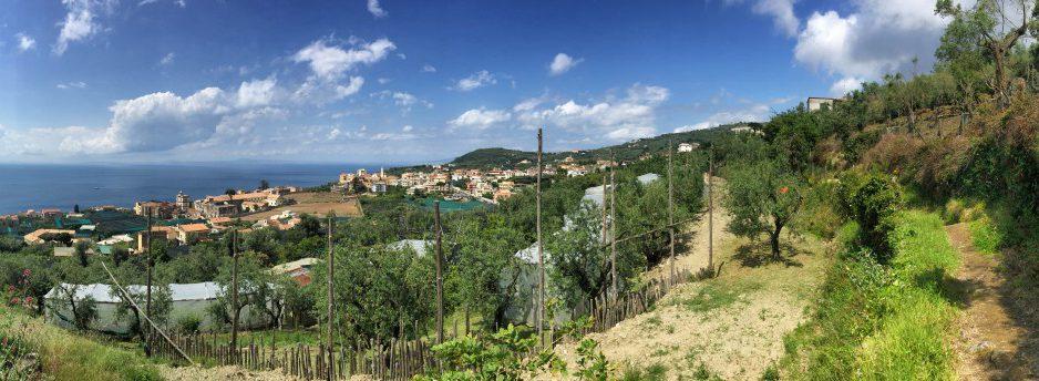 No caminho para Sorrento, caminhadas na Costa Amalfitana, estágio 6
