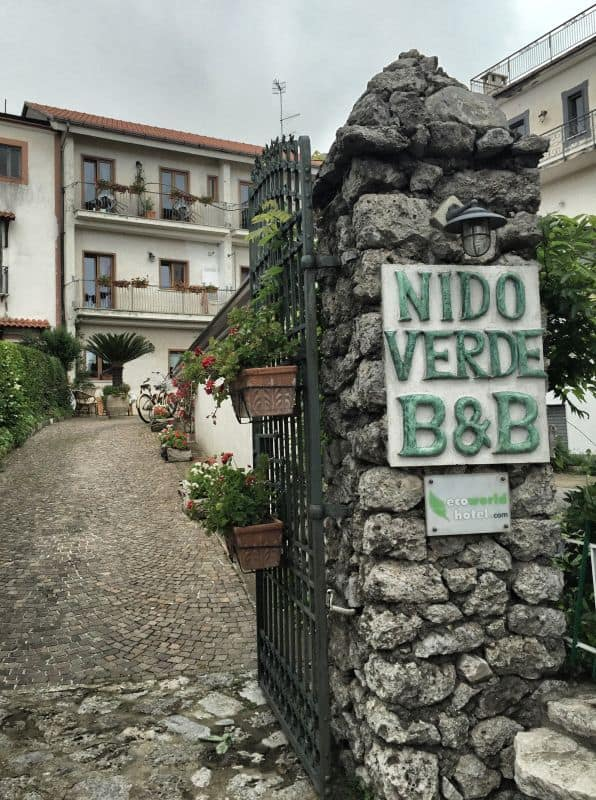 BB Nido Verde in Bomerano Family run accommodation