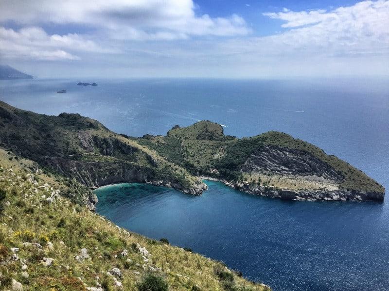 Das Naturschutzgebiets Baia Di Jeranto Etappe 6
