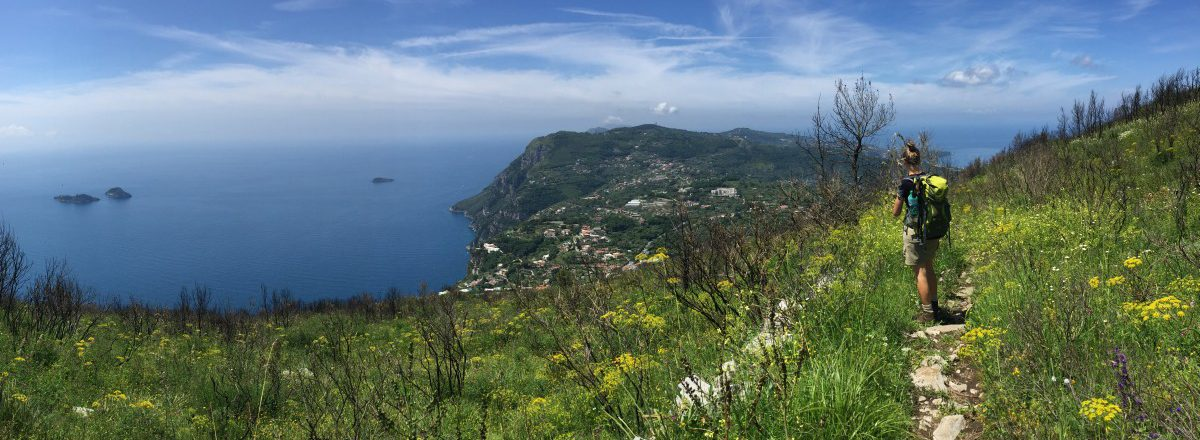Small extra tour pleasing short hike to Monte Vico Alvano 1