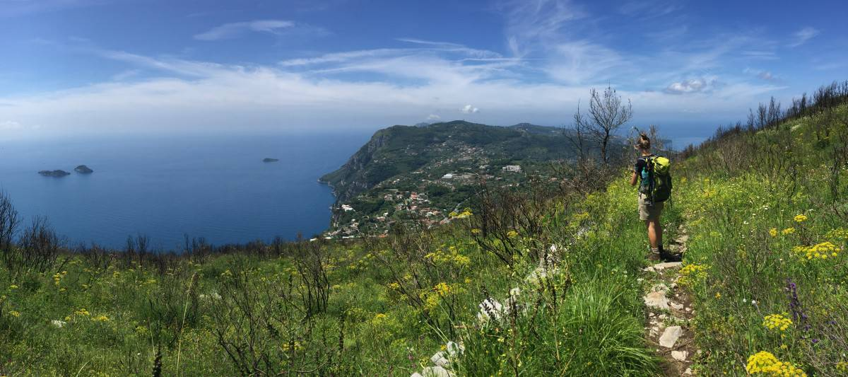 Small extra tour pleasing short hike to Monte Vico Alvano