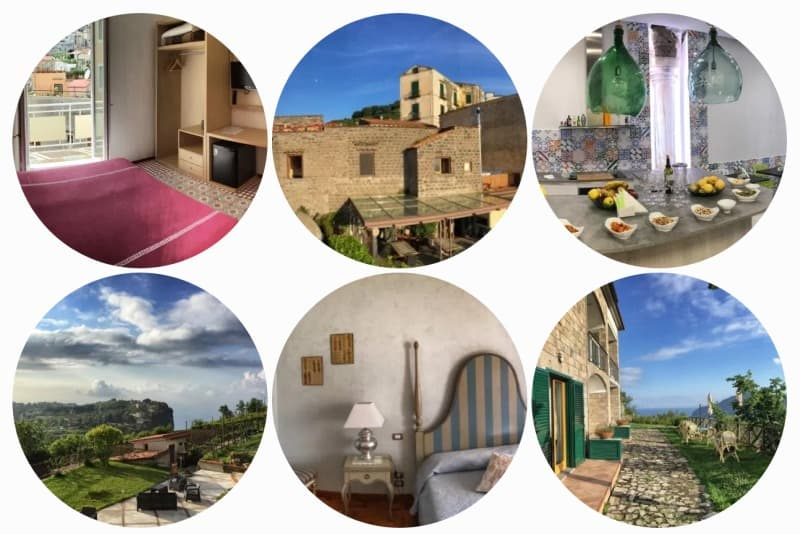 Unterkünfte an der Amalfiküste empfehlenswerte BedBreakfasts und Pensionen