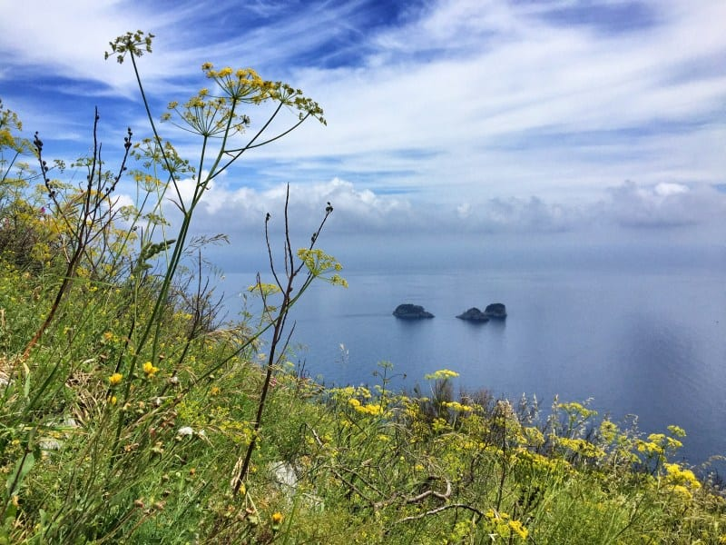 Hiking on the Amalfi Coast Stage 5 The Li Galli Islands 1