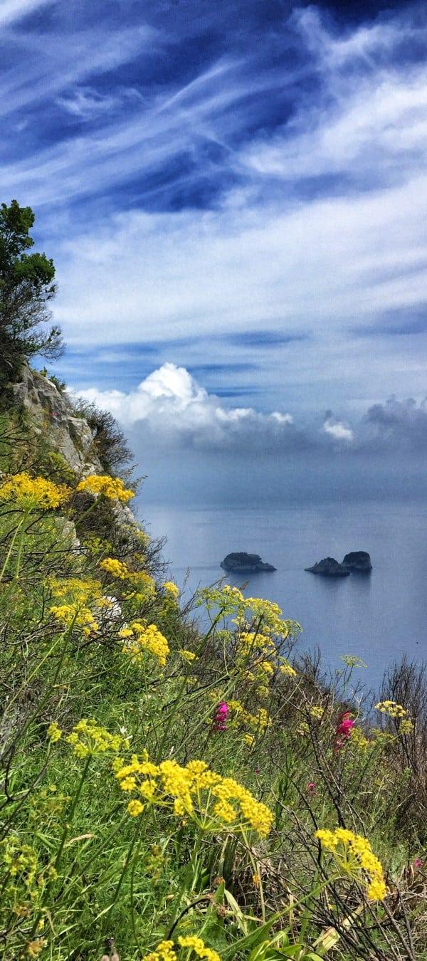 Wandern an der Amalfiküste Etappe 5 Die Li Galli Inseln