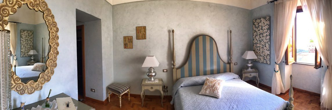 Hiking on the Amalfi Coast stage 5 deserved reward wonderful accommodation in the Casa Lubra Relax