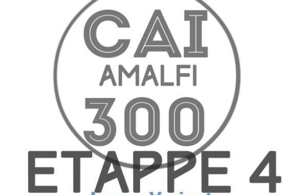 Amalfi Wanderweg CAI 300 Dowload Etappe 4 lange Variante 600px